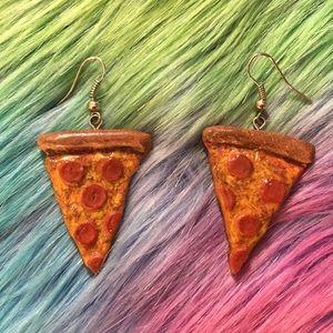 PIZZA SLICE EARRINGS 😍